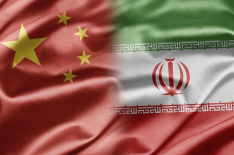china-iran-flag